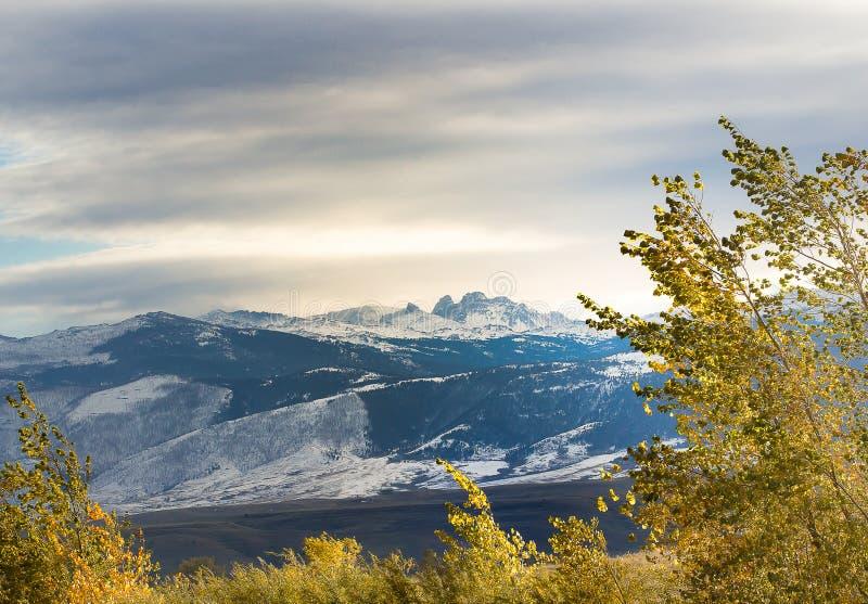 Гора Blacktooth стоковое фото