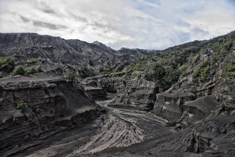 Гора Bromo стоковые изображения rf