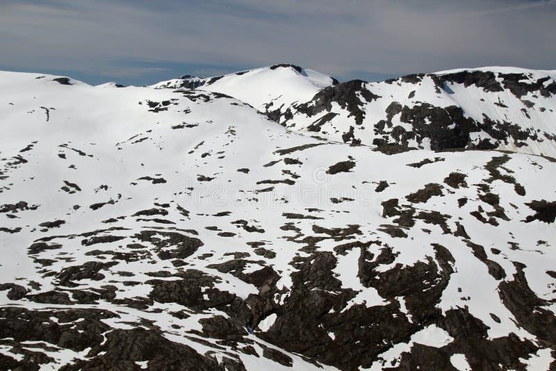 Гора Dalsnibba, Норвегия стоковое фото rf