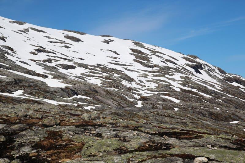 Гора Dalsnibba, Норвегия стоковое фото