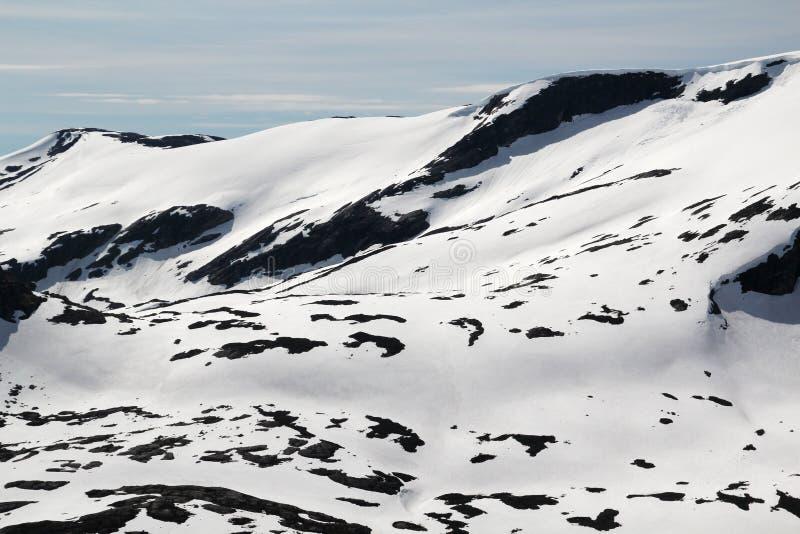 Гора Dalsnibba, Норвегия стоковая фотография