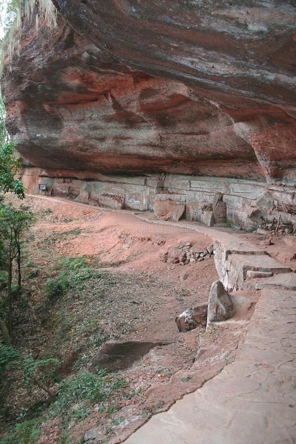 Гора 2 danxia стоковое изображение