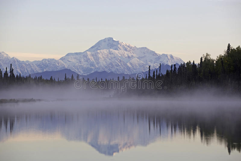 гора denali Аляски стоковое фото rf