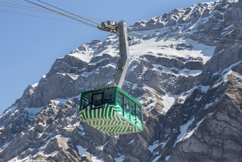 гора furnicular Швейцария saentis стоковые фотографии rf
