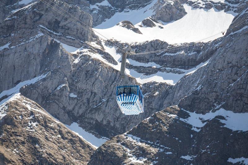 гора furnicular Швейцария saentis стоковые фото