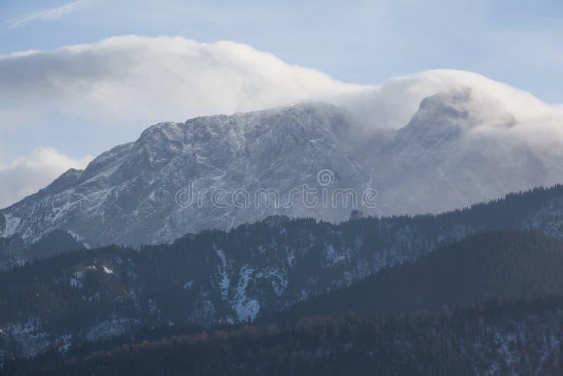 Гора Giewont стоковое изображение