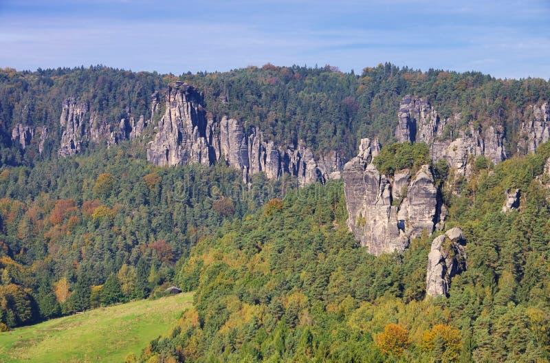 Гора Grosse Gans стоковое фото rf