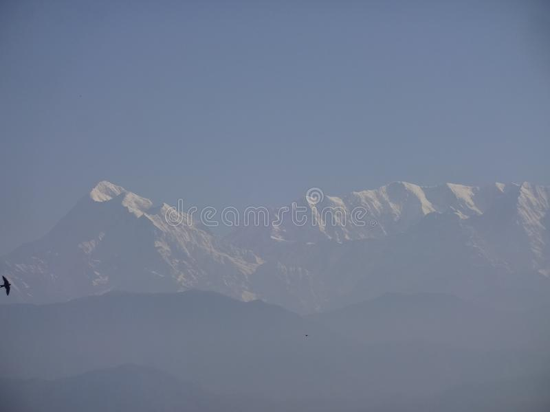 Гора Himalya стоковые фотографии rf