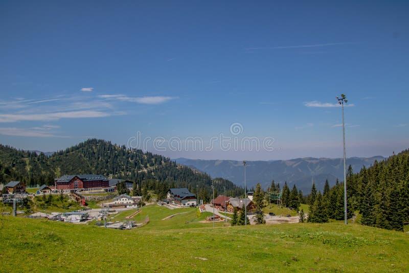 Гора Hochkar в Göstlinger Альп летом, Mostviertel, Нижней Австрии, Австрия стоковые фото