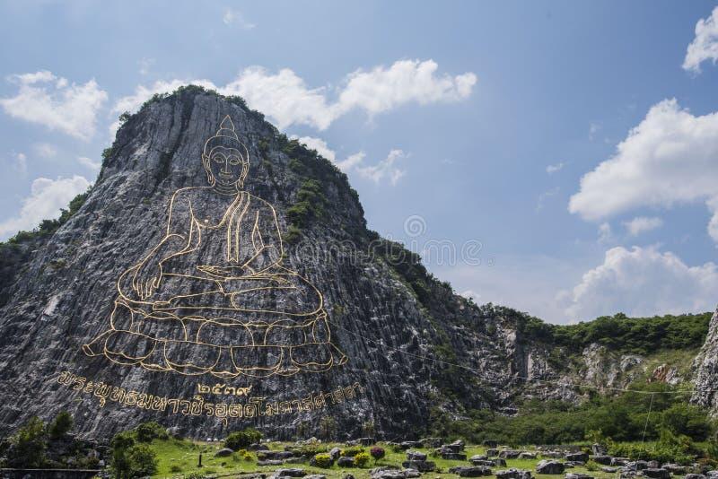 Гора Khao Chee Chan Будды стоковое изображение