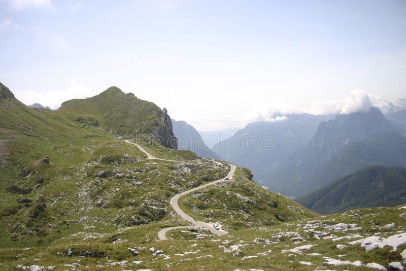 Гора Mangart стоковое фото rf