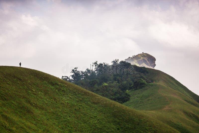 Гора Monchong очаровательная стоковая фотография