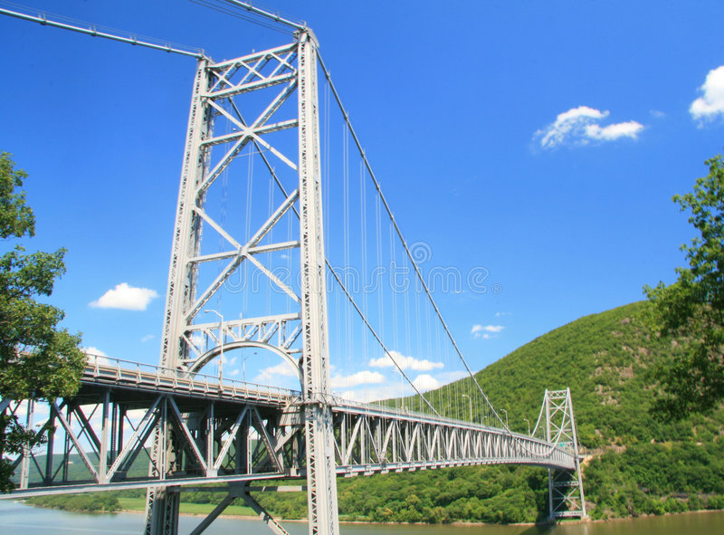 гора New York моста медведя стоковое изображение rf
