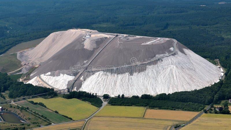 Гора Overburden стоковое изображение rf