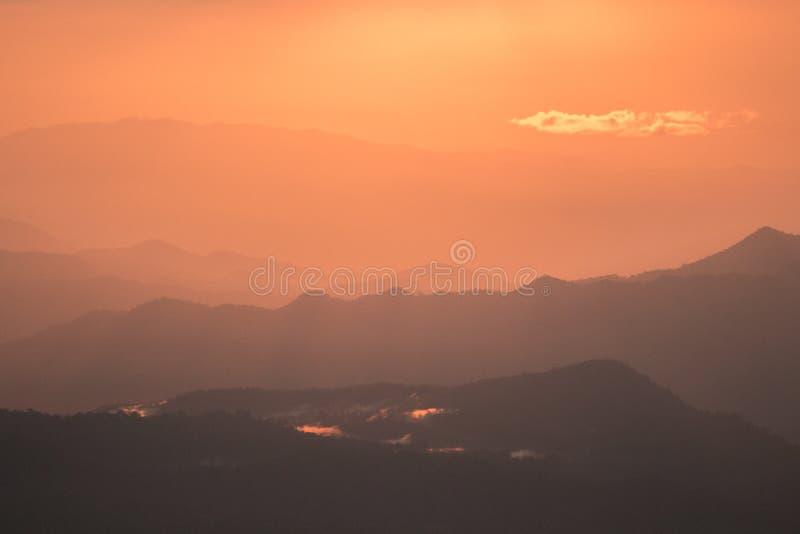 Гора Phusoidao стоковая фотография