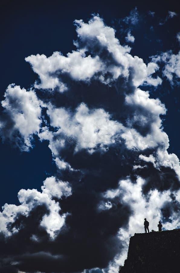 Гора Pisaq стоковое фото rf