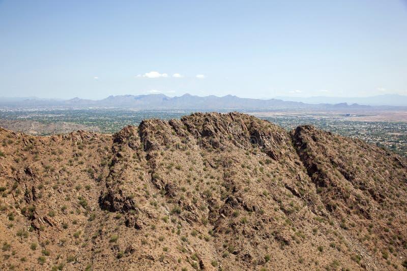 Гора Ridgeline Camelback стоковая фотография