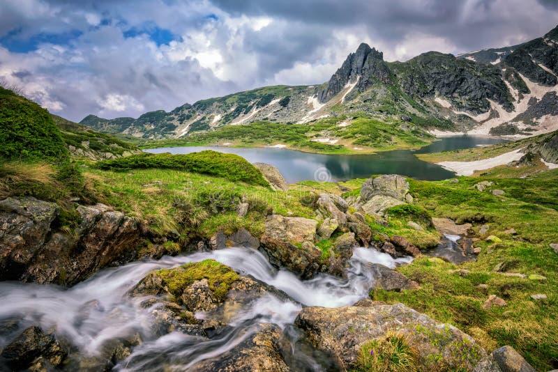 Гора Rila стоковое изображение rf