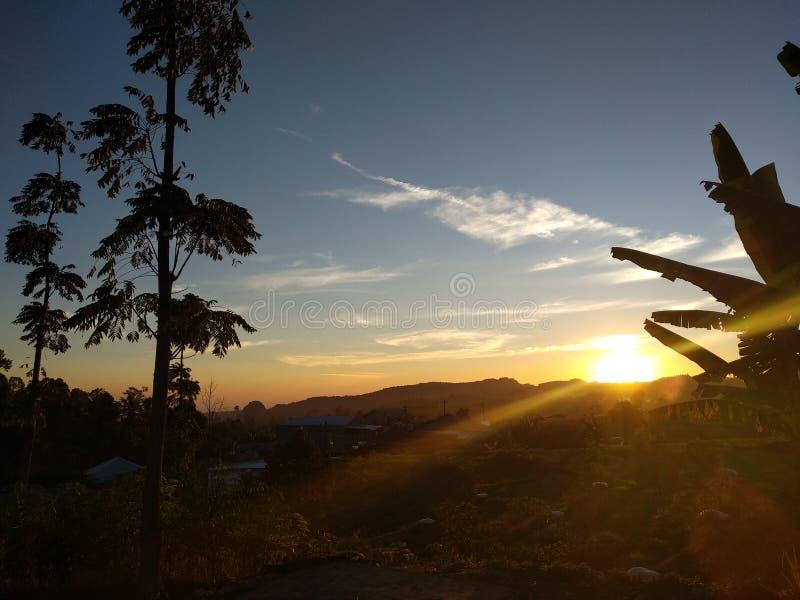Гора Slamet стоковые изображения