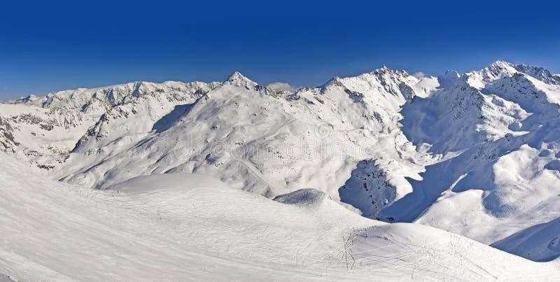 Гора Snowy Альпов стоковая фотография rf
