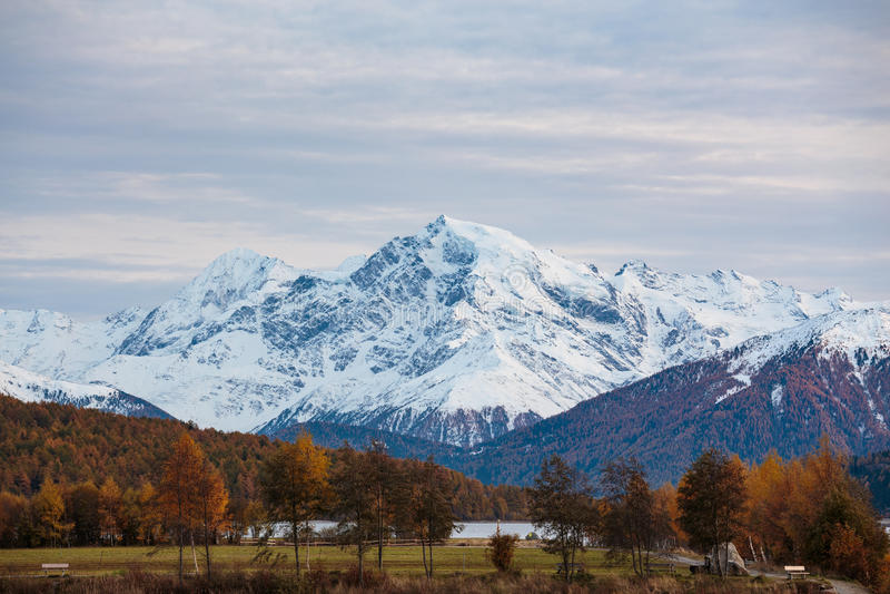 Гора Tyrollean стоковое изображение