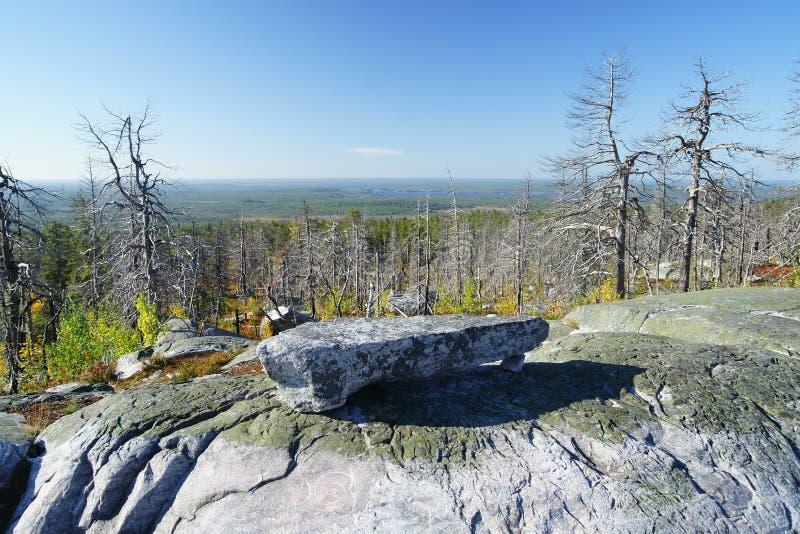 Гора Vottovaara стоковые изображения rf