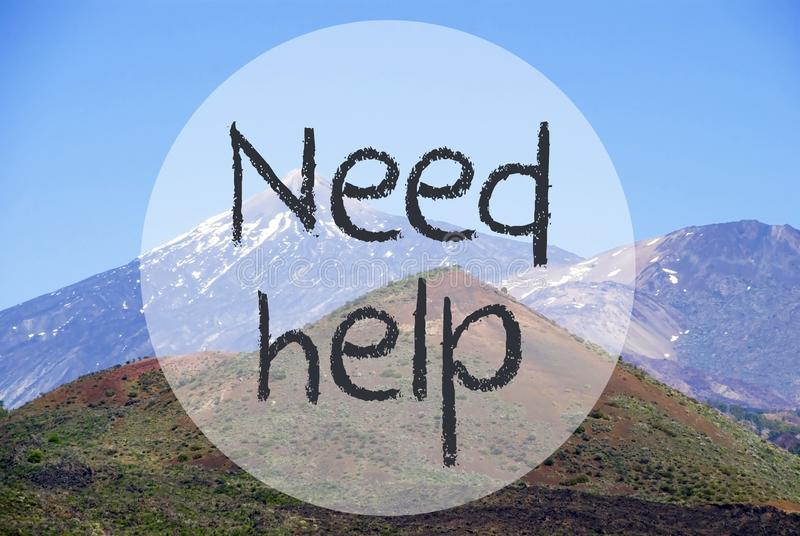 Гора Vulcano, помощь потребности текста, природа Норвегии стоковые фотографии rf
