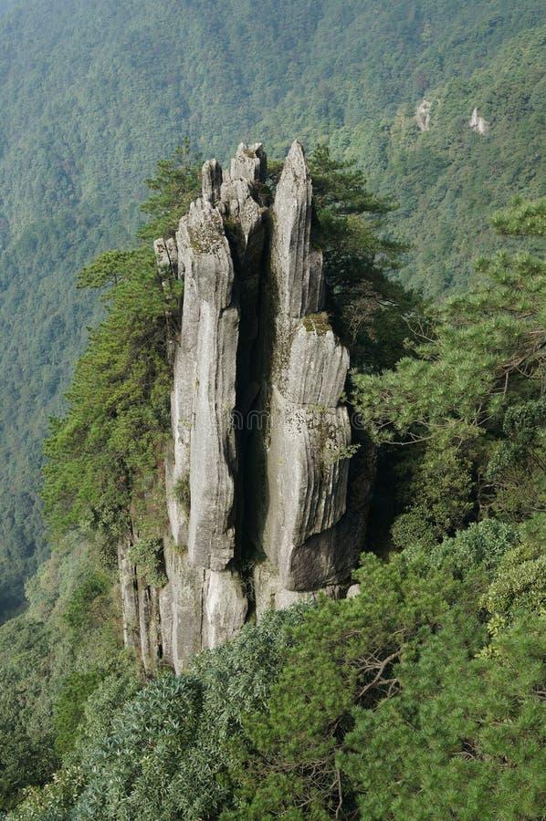 Гора Wugong стоковое фото rf