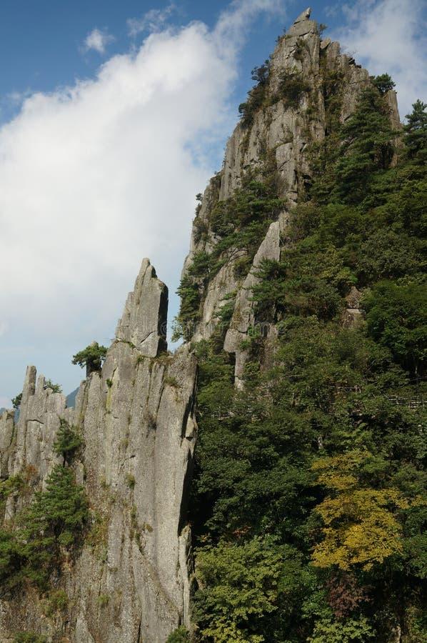Гора Wugong стоковая фотография rf