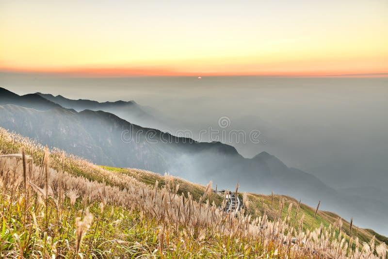 Гора Wugong стоковое изображение rf