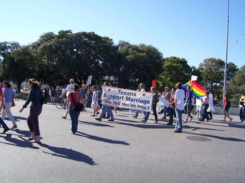 гордость texas голубого парада стоковые изображения