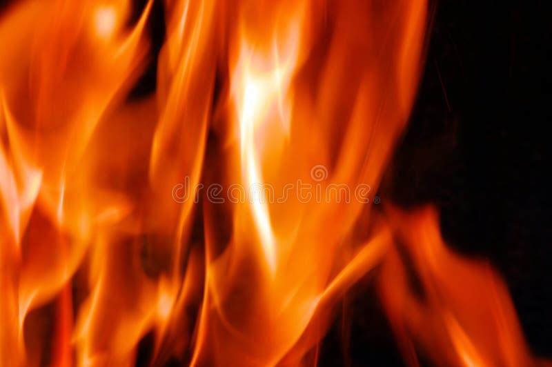 гореть близко горит вверх стоковые изображения