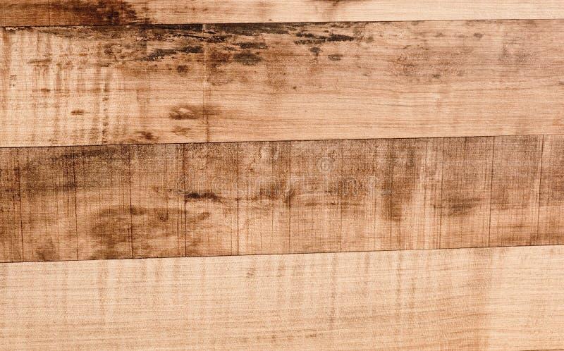 Горизонтальная русая текстура деревянной предпосылки зерна стоковая фотография rf