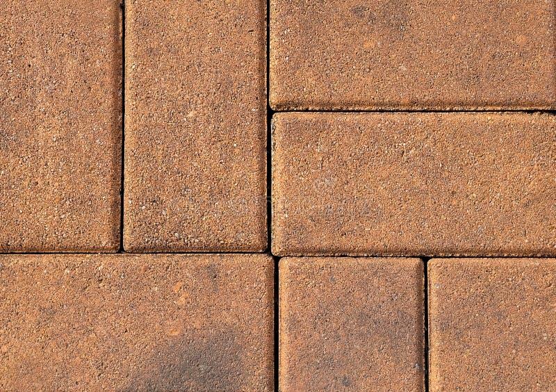 Горизонтальная текстура тропы кирпича Брайна стоковая фотография