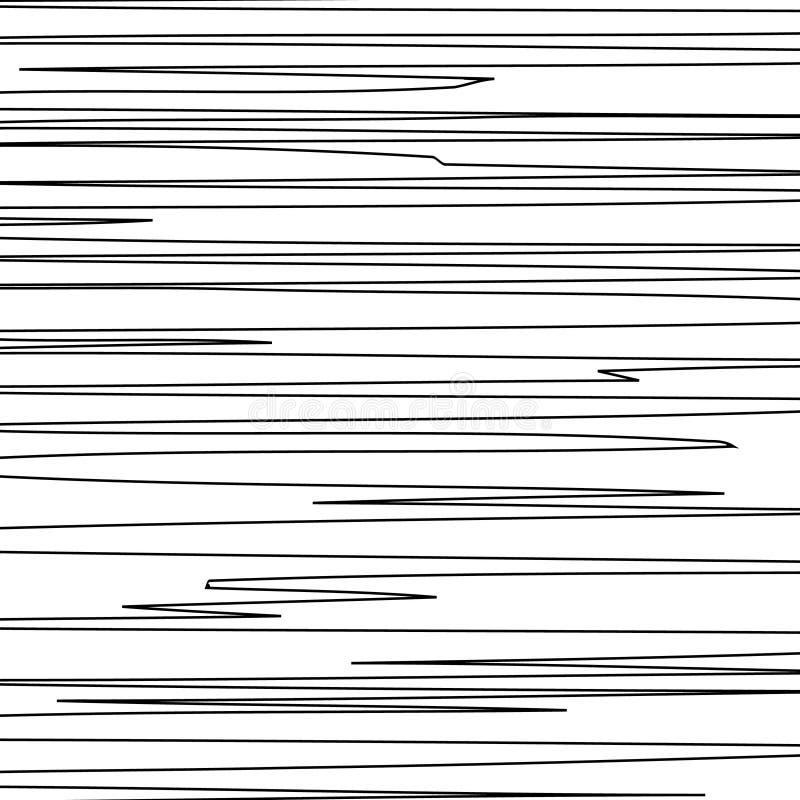 Горизонтальные черные линии иллюстрация вектора