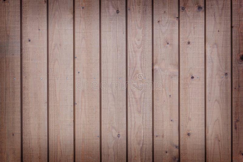 Горизонтальная часть вертикальных планок с русой краской стоковая фотография rf