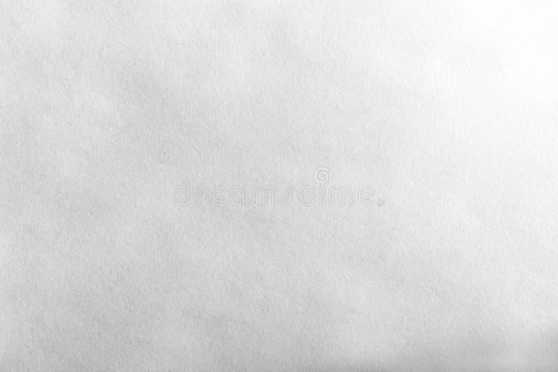 Горизонтальная черно-белая текстура чистого листа бумаги стоковые изображения