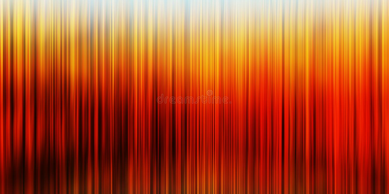Горизонтальное широкое вертикальное оранжевое живое дело занавесов presen стоковые фото