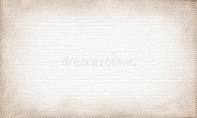Горизонтальный бежевый холст, который нужно использовать как предпосылка или текстура grunge вектор комплекта сердец шаржа припол иллюстрация штока