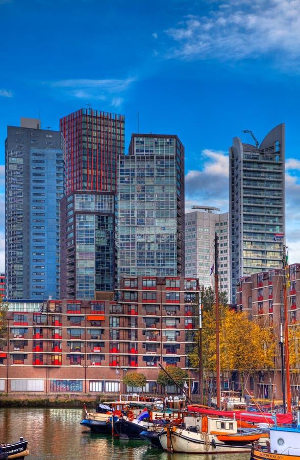 горизонты Rotterdam Редакционное Фото