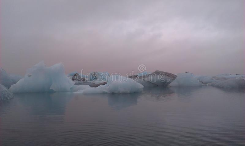 Горизонт айсберга стоковое фото rf