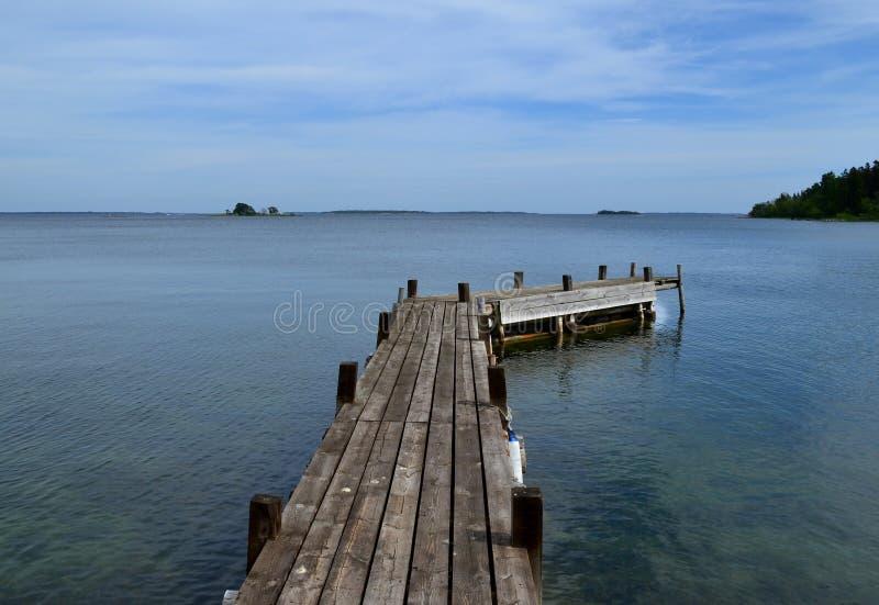 горизонт архипелага стоковое изображение rf