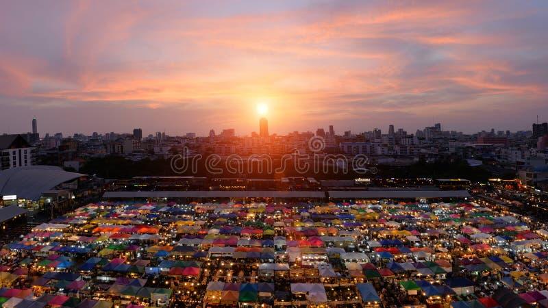 Горизонт Бангкока, Таиланда - Бангкока стоковое фото