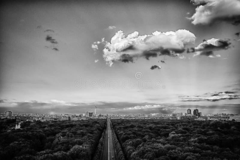 Горизонт Берлина стоковое изображение rf