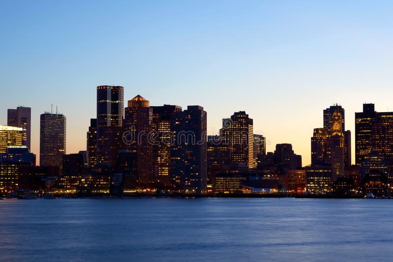 Горизонт Бостон стоковое изображение rf