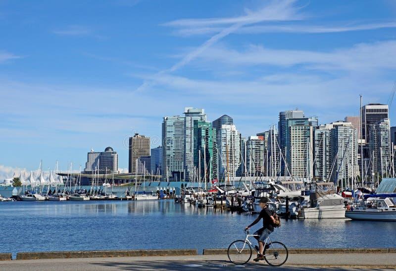 Горизонт Ванкувера стоковые фото