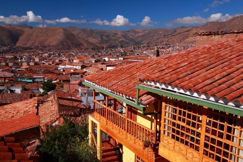 Горизонт в Cuzco стоковые фотографии rf