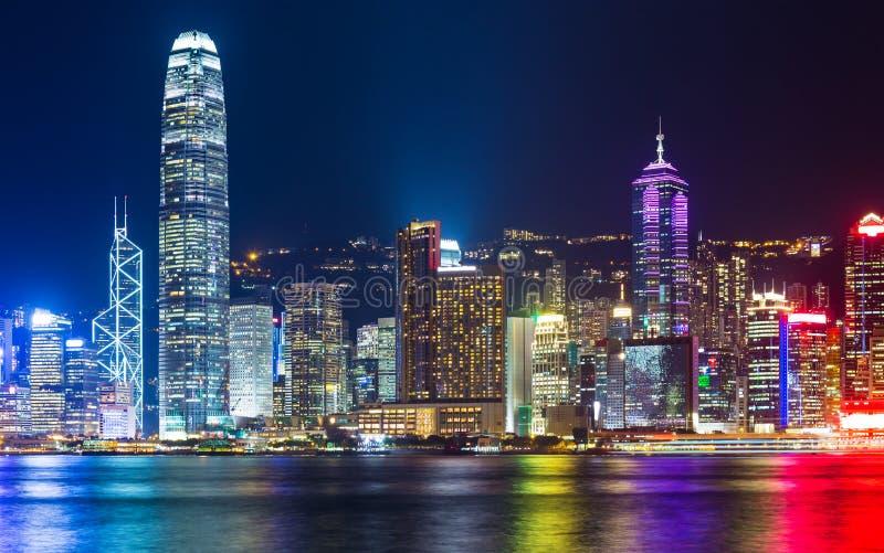 Download Горизонт Гонконга стоковое фото. изображение насчитывающей город - 33737320