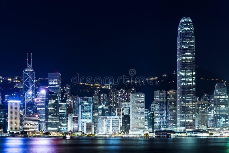Download Горизонт Гонконга стоковое фото. изображение насчитывающей hong - 33737636