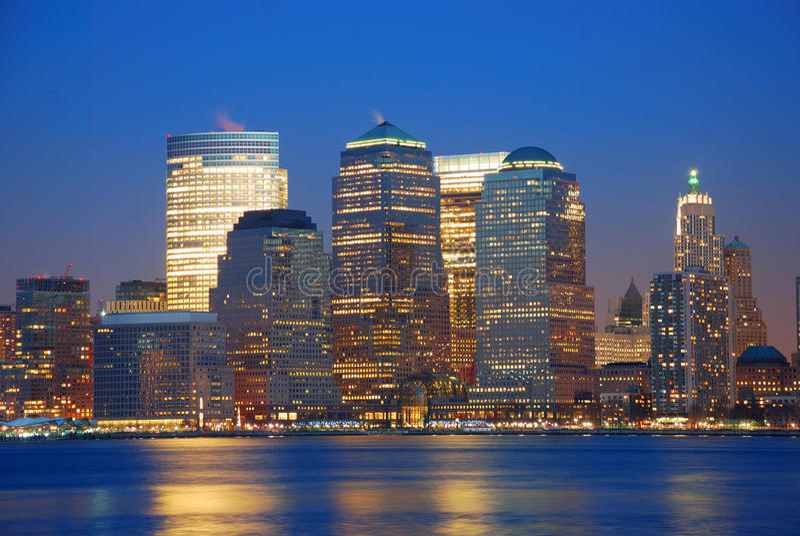 горизонт города урбанский стоковое изображение